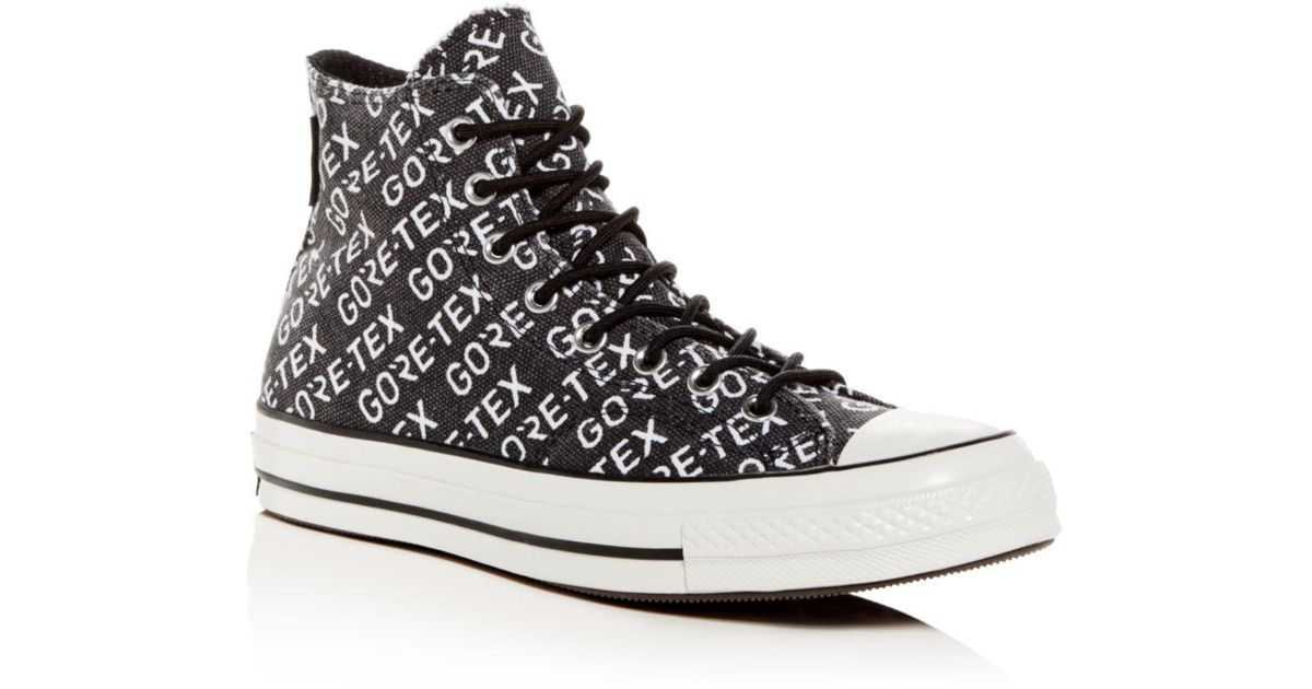 4fb8e4dc20e Converse Men s Chuck Taylor All Star 70 Gore-tex® High-top Sneakers in Black  for Men - Lyst