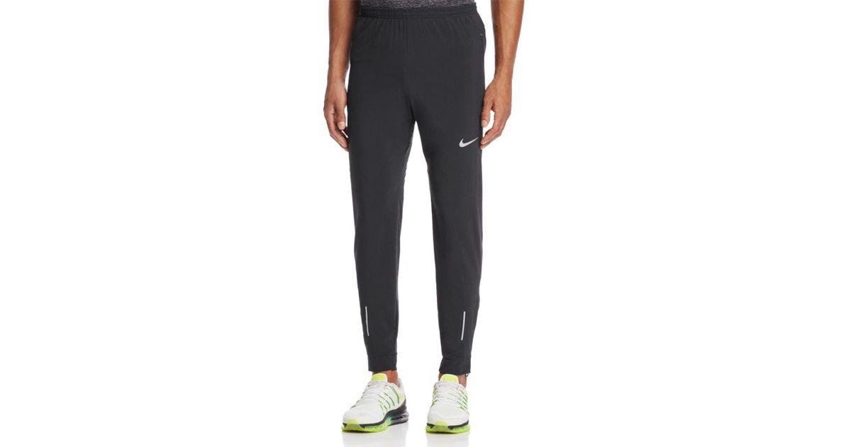 5f6b9dc2bd1c Lyst - Nike Woven Flex Track Pants in Black for Men