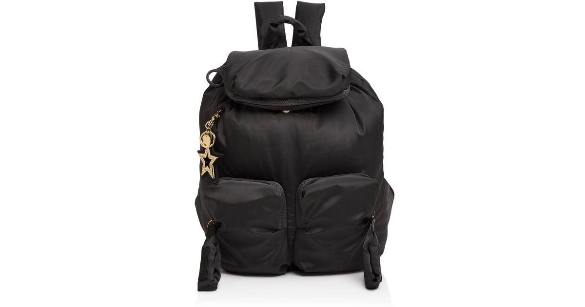 Lyst - See By Chloé Joyrider Nylon Backpack in Black 7ad0b3b248526