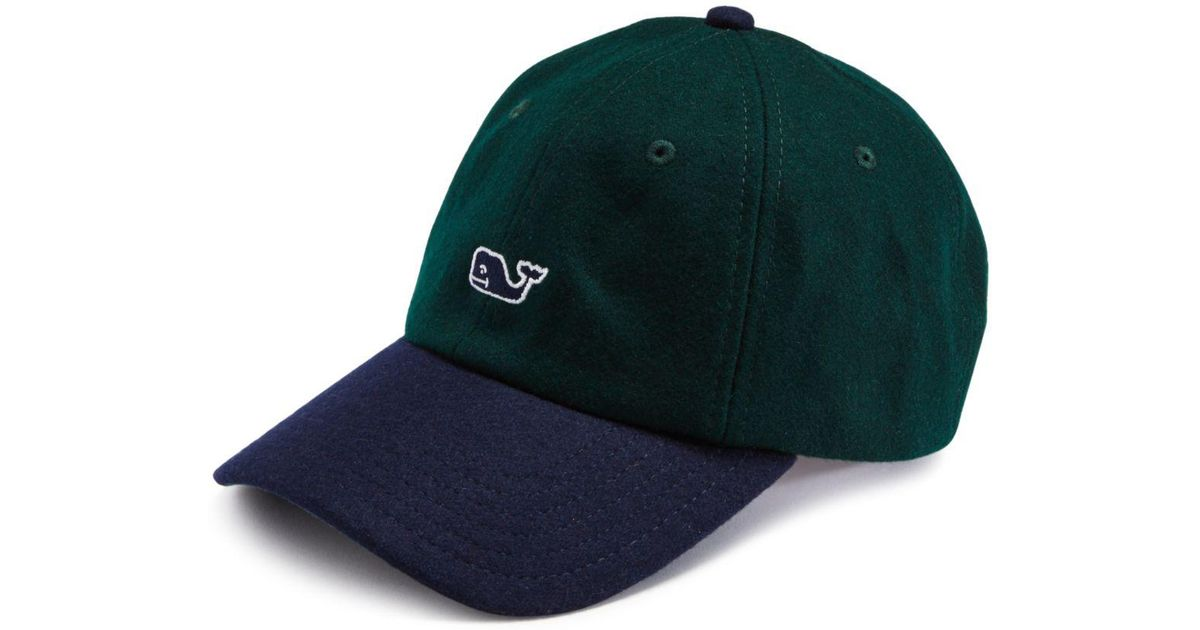 acca710d063 ... norway lyst vineyard vines multi plaid baseball hat in blue for men  d715d f7139