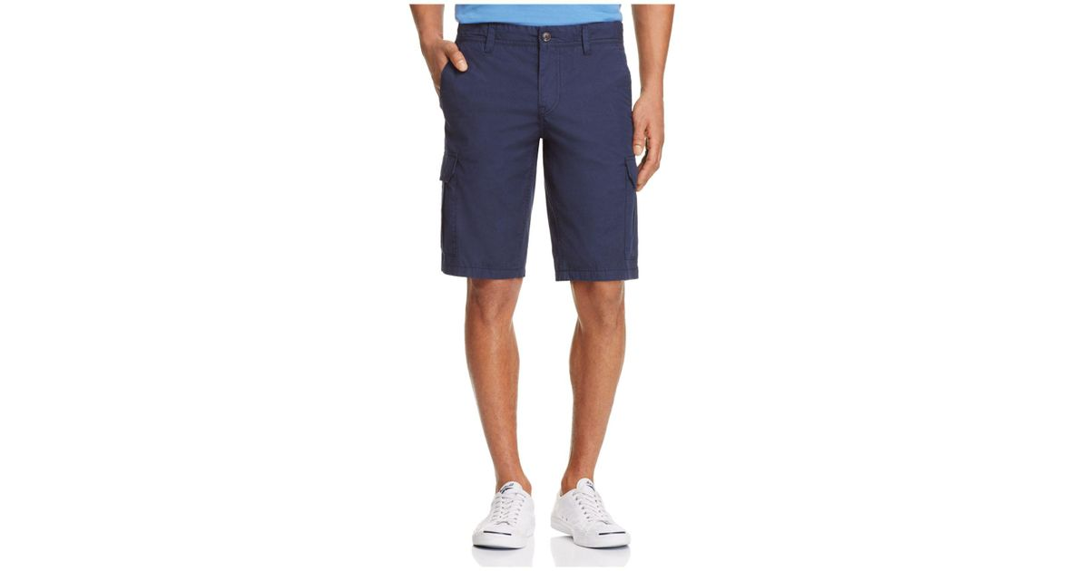 99301ac90 Lyst - BOSS Orange Schwinn Regular Fit Cargo Shorts in Blue for Men