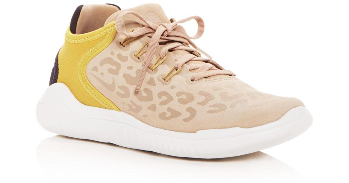 59c41259dcfc Lyst - Nike Women s Free Rn 2018 Wild Suede Lace Up Sneakers