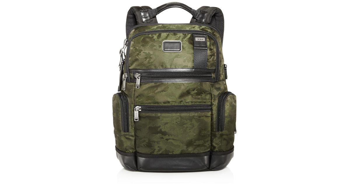 7c77cbc09 Tumi Camo Knox Backpack in Green for Men - Lyst