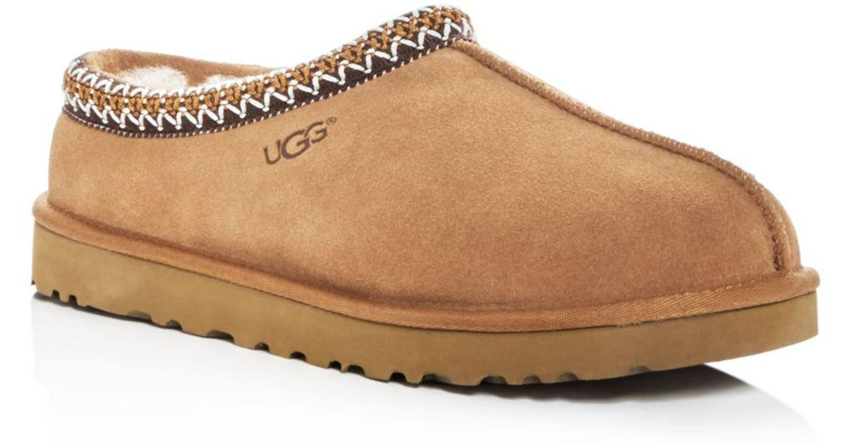 96702be2a4c Lyst - UGG Men s Tasman Suede   Shearling Slippers in Brown for Men