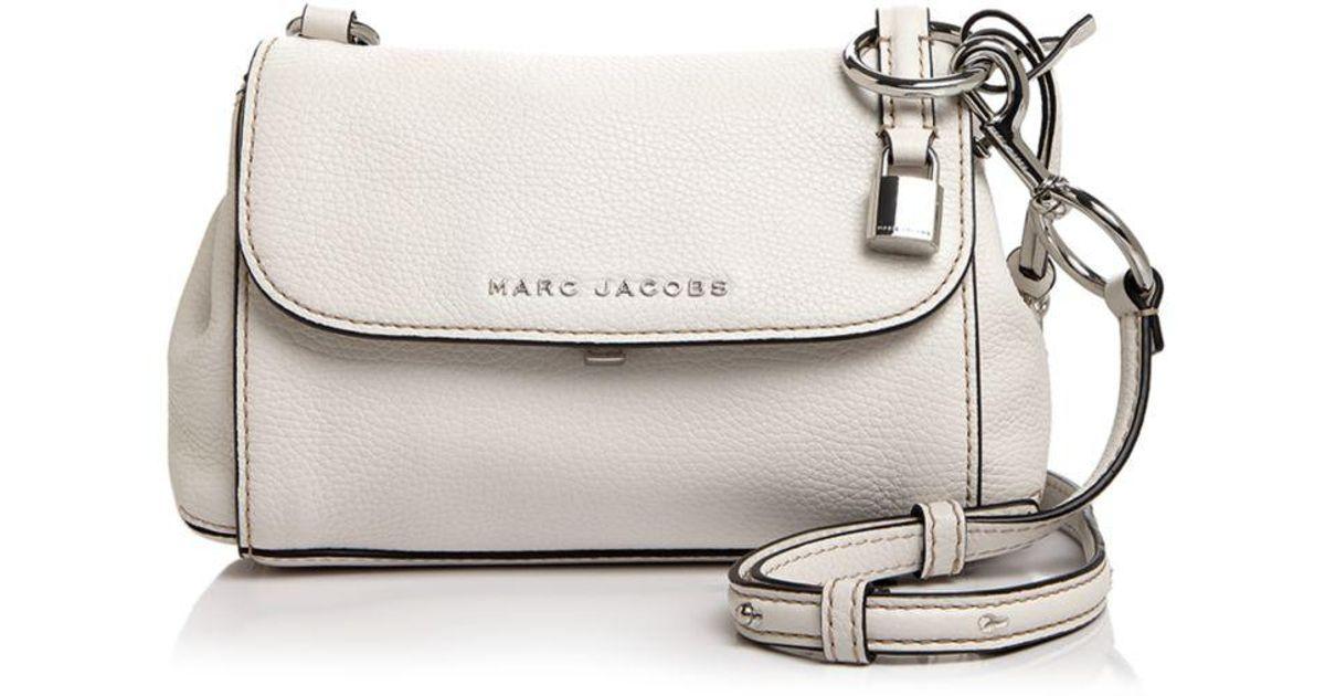 Lyst - Marc Jacobs Mini Boho Grind Leather Crossbody