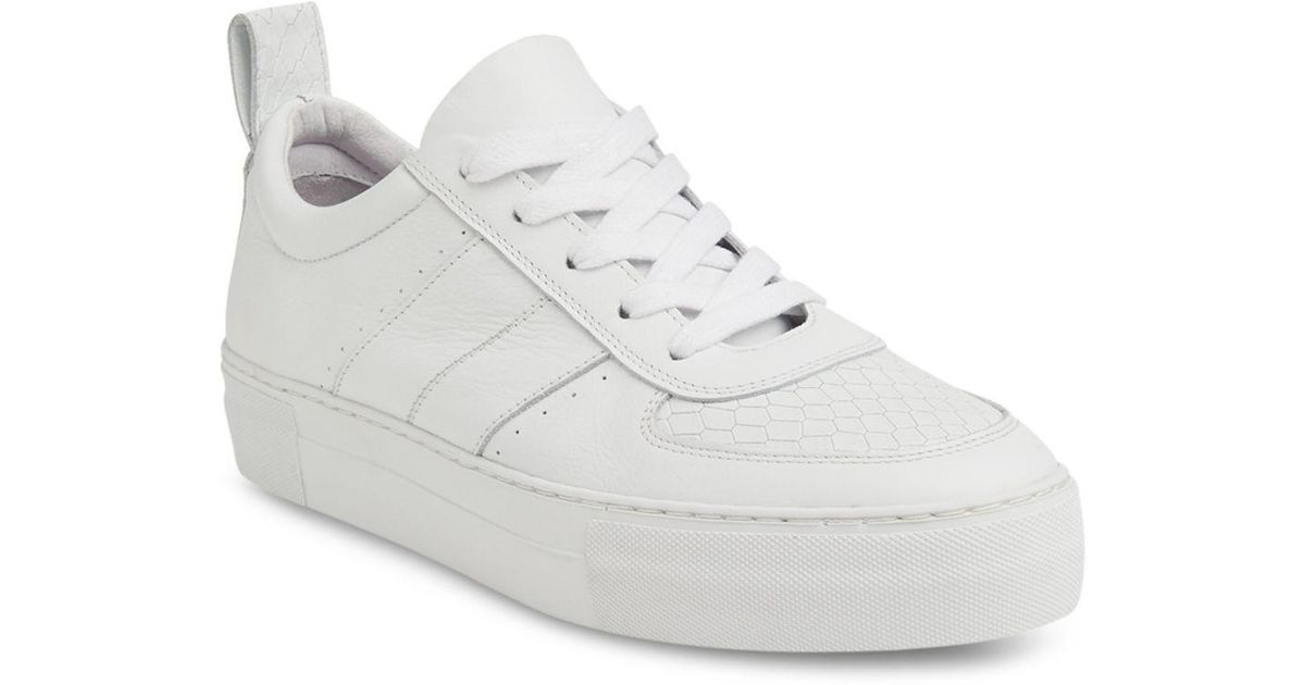 dd2dc104577c9a Lyst - Whistles Anna Low Top Trainers in White - Save 28%