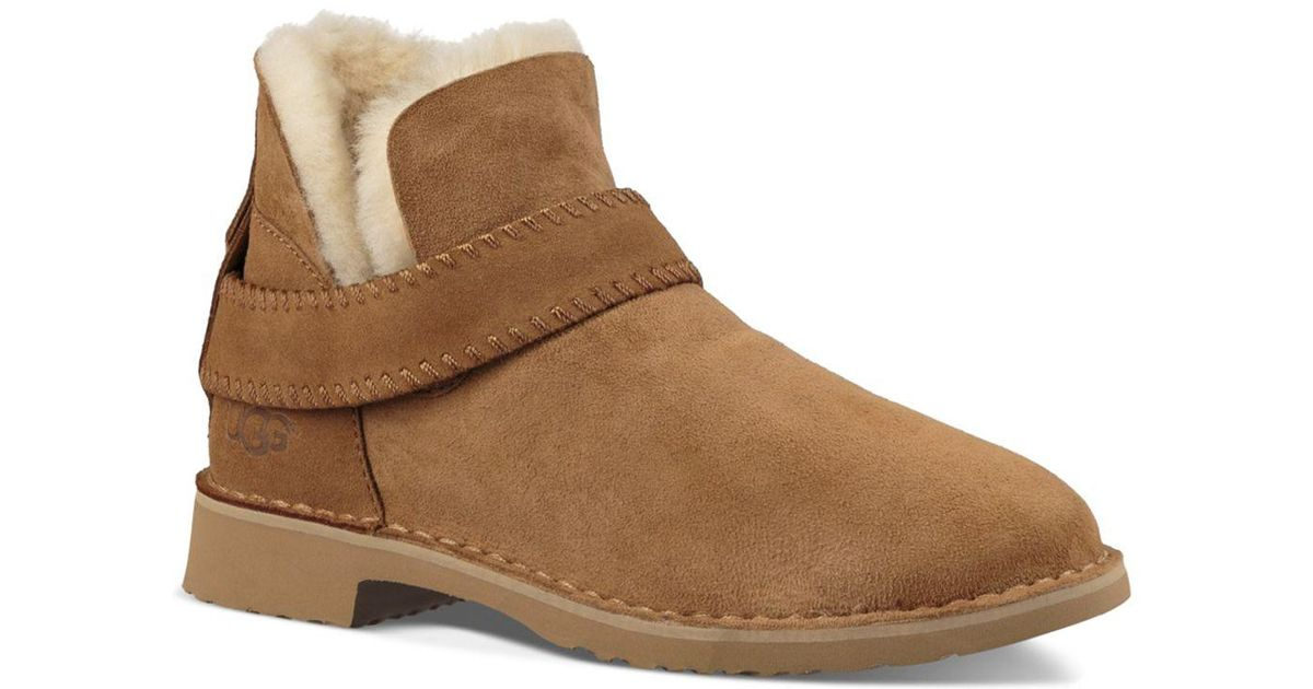 c177dfb718b Ugg - Brown Mckay Sheepskin Booties - Lyst