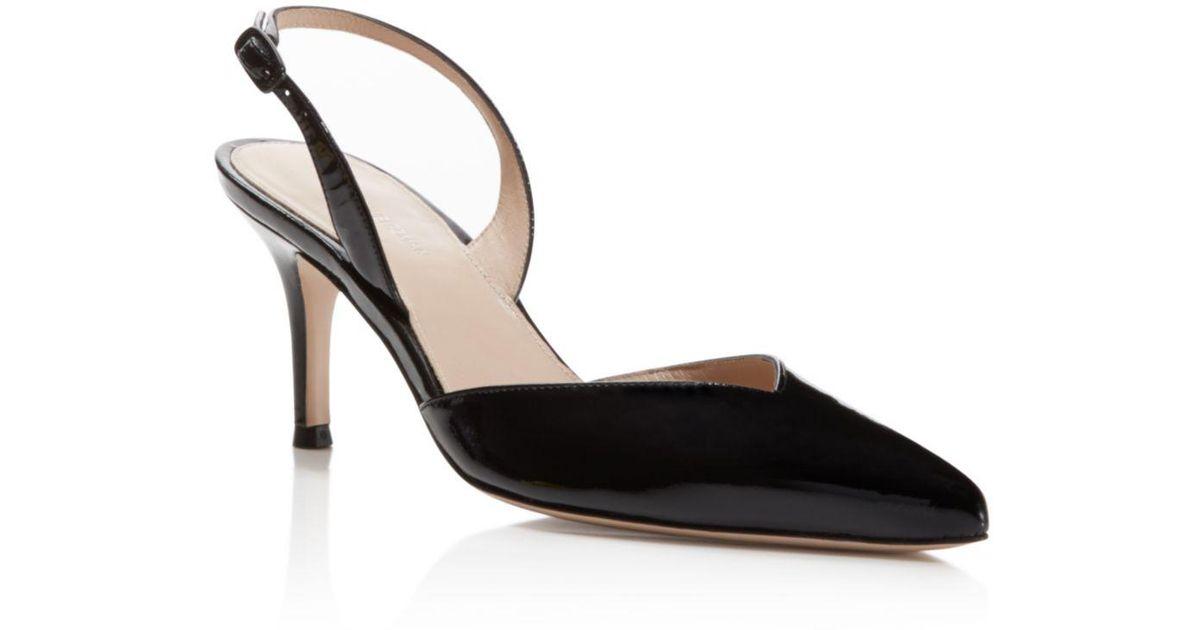 6ba9aa338d59 Lyst - Stuart Weitzman Womens Sleek Closed Toe Casual Ankle Strap Sandals  in Black