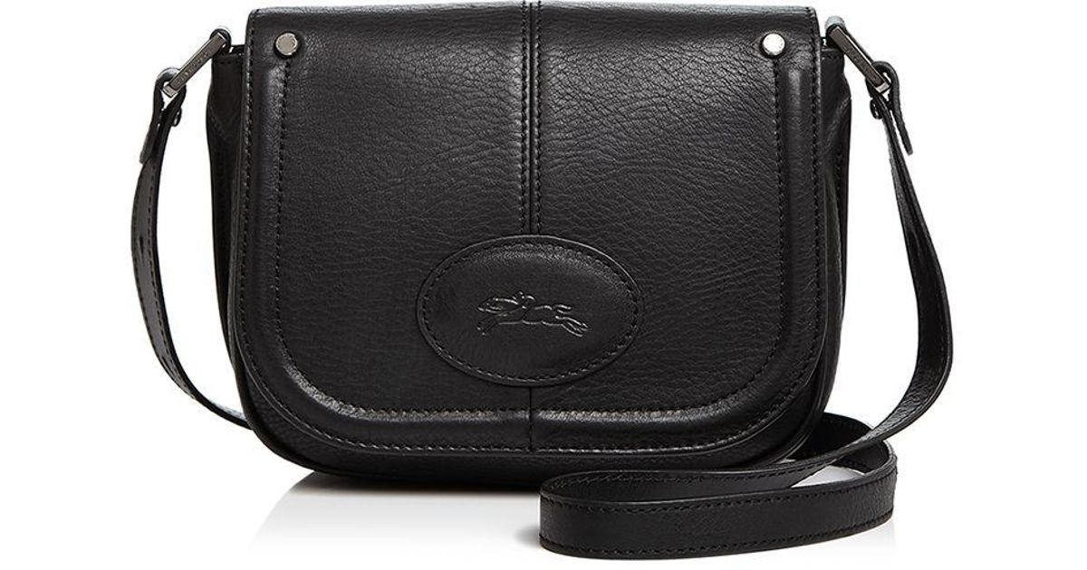 78fd1562d Longchamp Small Mystery Crossbody in Black - Lyst