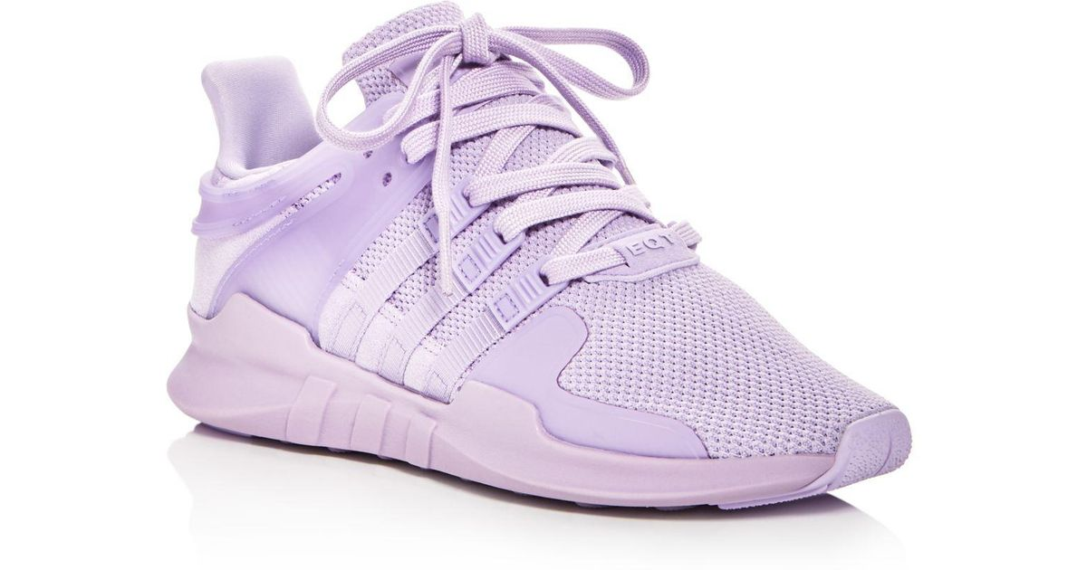 info for 7d890 42627 Lyst - adidas Womens Eqt Support Adv Knit Lace Up Sneakers i