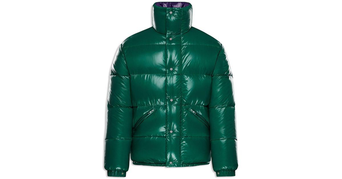 9cf9f73fc4f Lyst - Moncler Dejan Puffer Jacket in Green for Men
