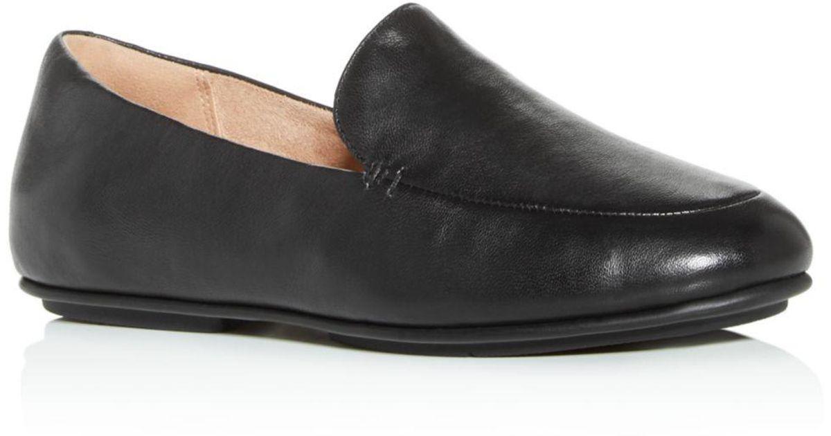 2734eaeb2 Lyst - Fitflop Women s Lena Loafers in Black