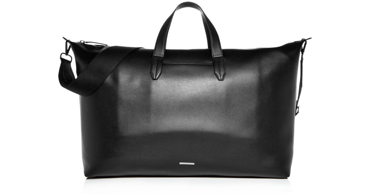 431e87aea3e3 Lyst - Uri Minkoff Grove Leather Weekender Bag in Black for Men