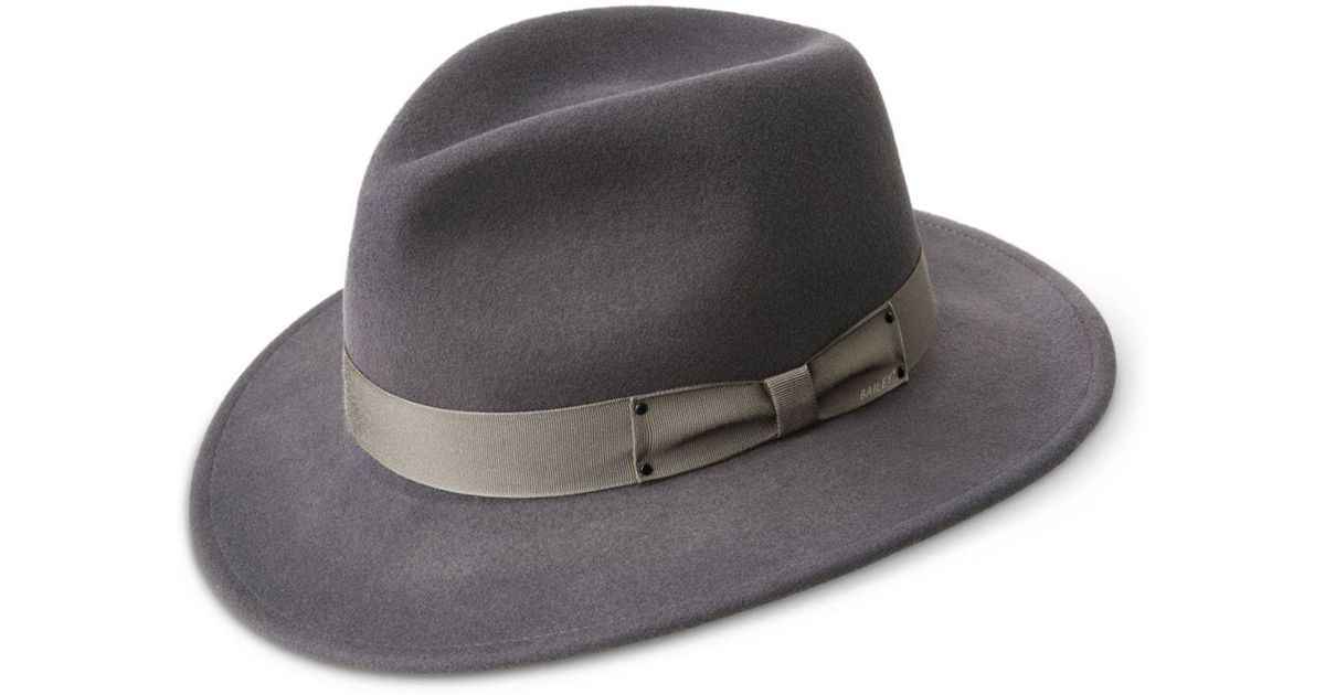 f61de5ae Lyst - Bailey Of Hollywood Curtis Fedora in Gray for Men