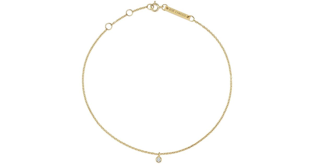 light grande herkimer products veluna diamond portal of thread anklet