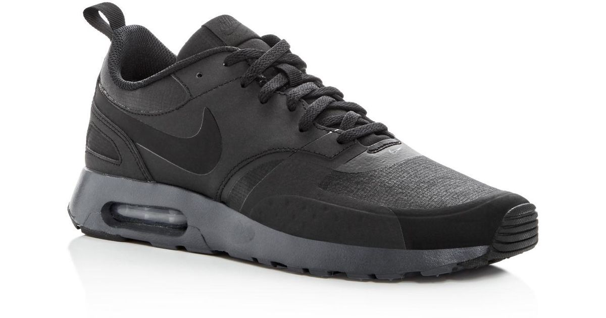 Lyst - Nike Men s Air Max Vision Premium Lace Up Sneakers in Black for Men da105379a
