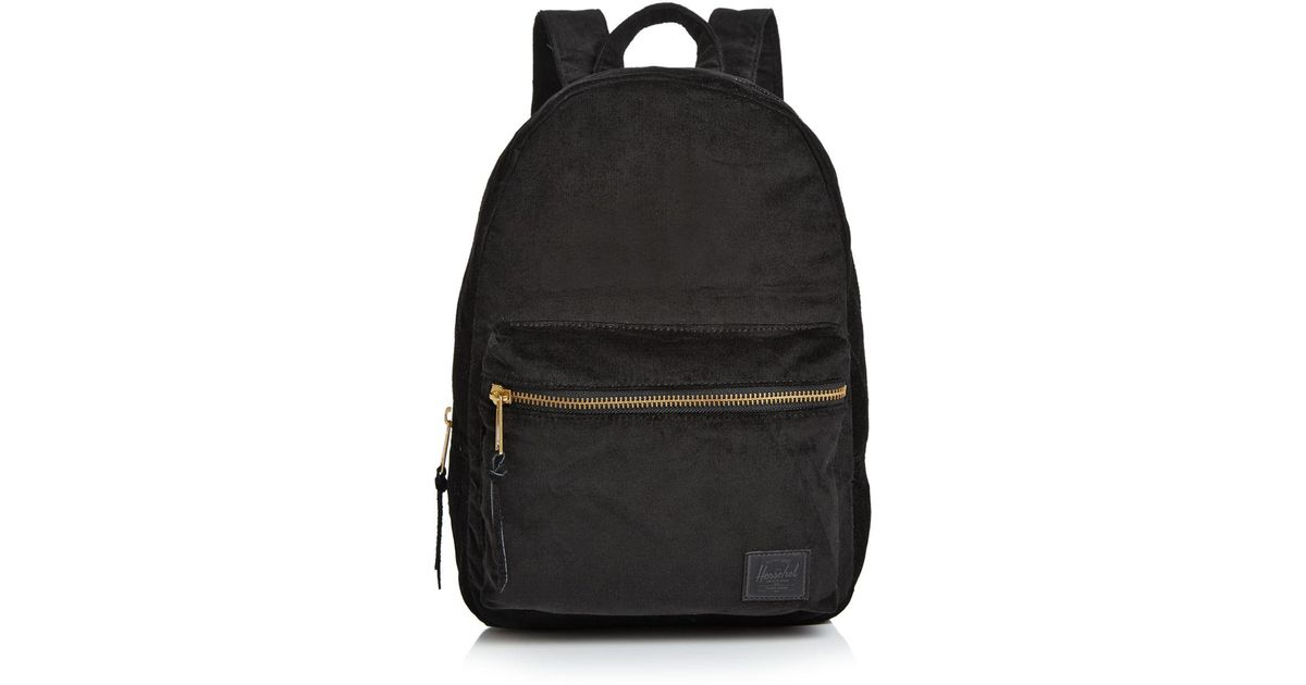 6640e63f19ac Lyst - Herschel Supply Co. Herschel Grove Mini Corduroy Backpack in Black