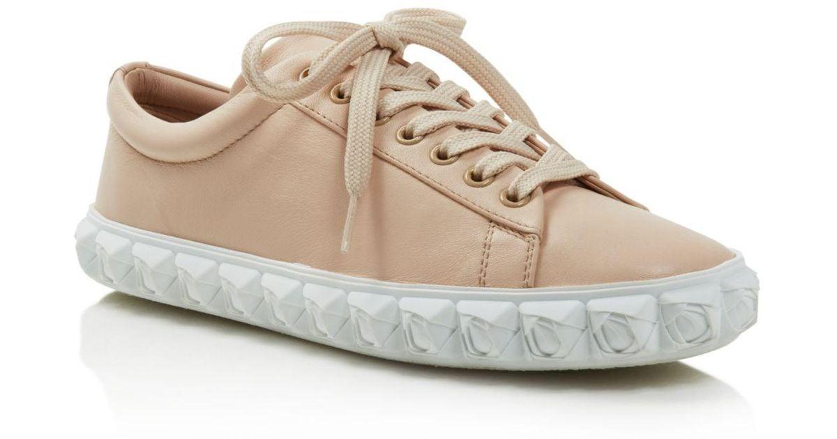 comfortable for sale footaction online Stuart Weitzman Shearling Low-Top Sneakers cheap deals JIzgKr2bb