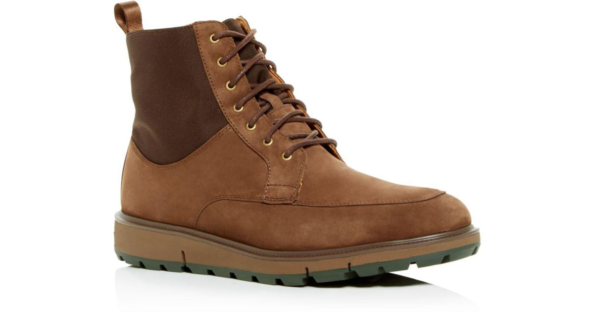 0c5c766d93d Swims Brown Men's Motion Country Waterproof Suede Boots for men