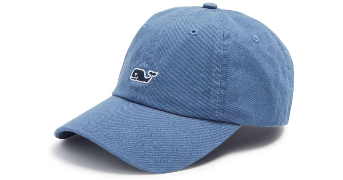 Lyst - Vineyard Vines Classic Baseball Cap in Blue for Men 05c3b7cace6a