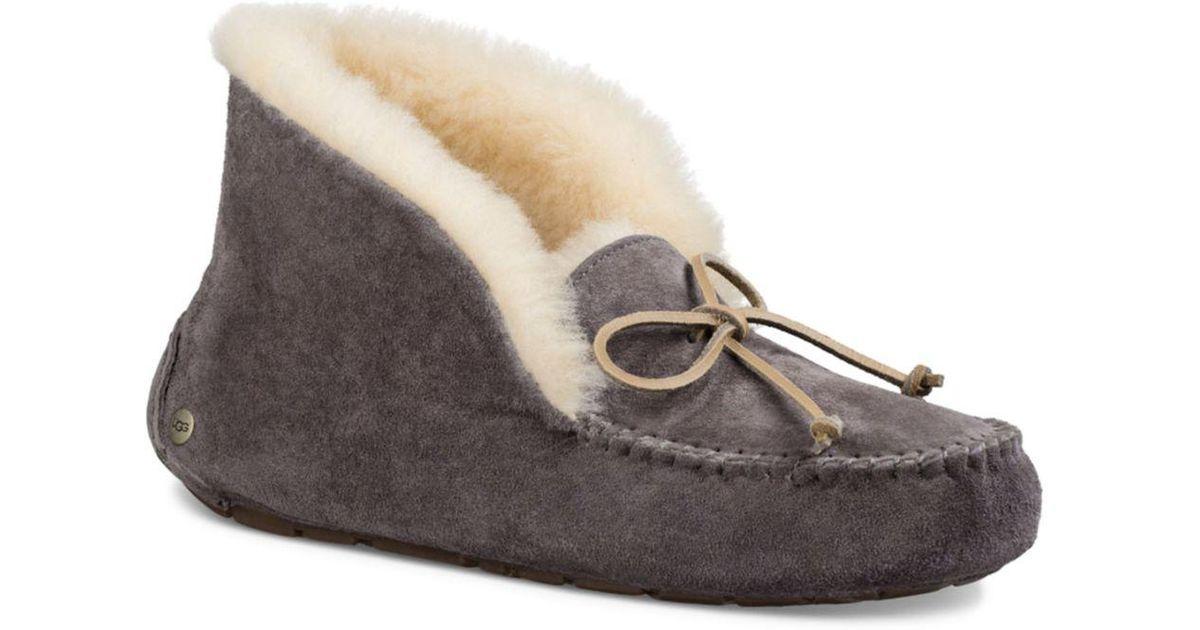 904a7d7f1f6 Ugg - Multicolor Alena Faux Fur Cuff Slippers - Lyst