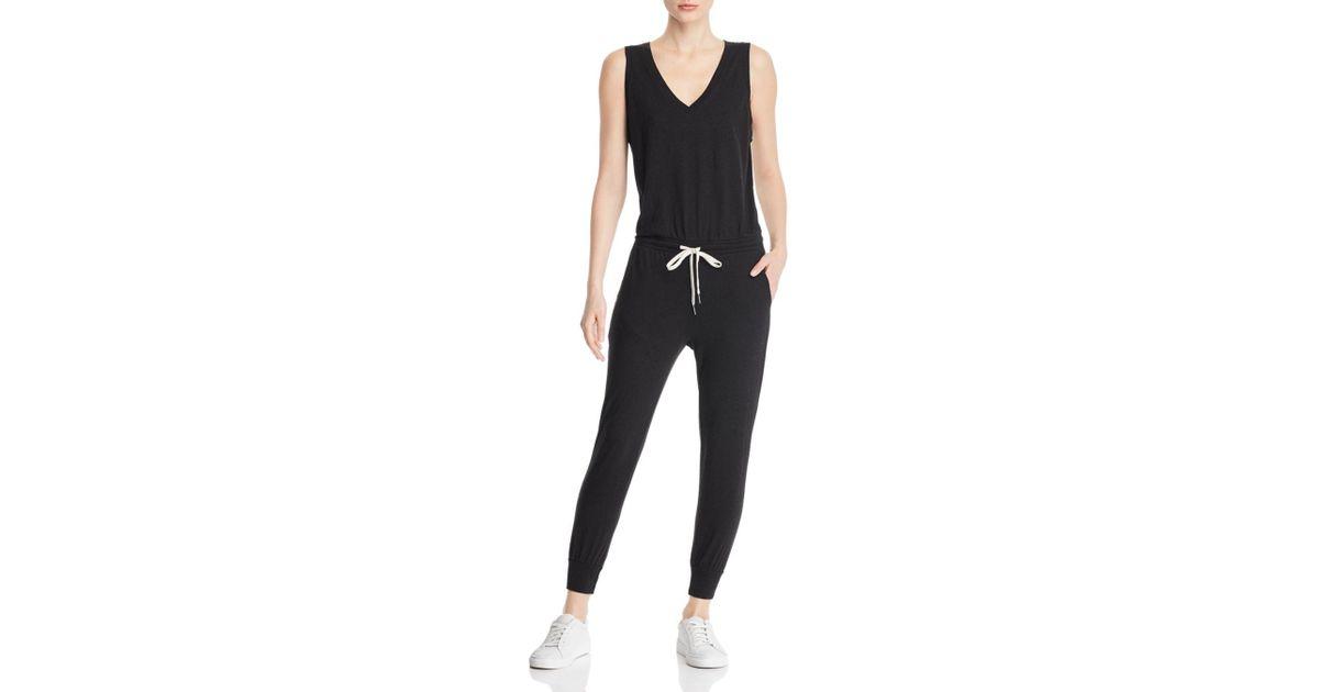 46865203f181 Lyst - n PHILANTHROPY N Philanthropy Sleeveless Knit Jumpsuit in Black