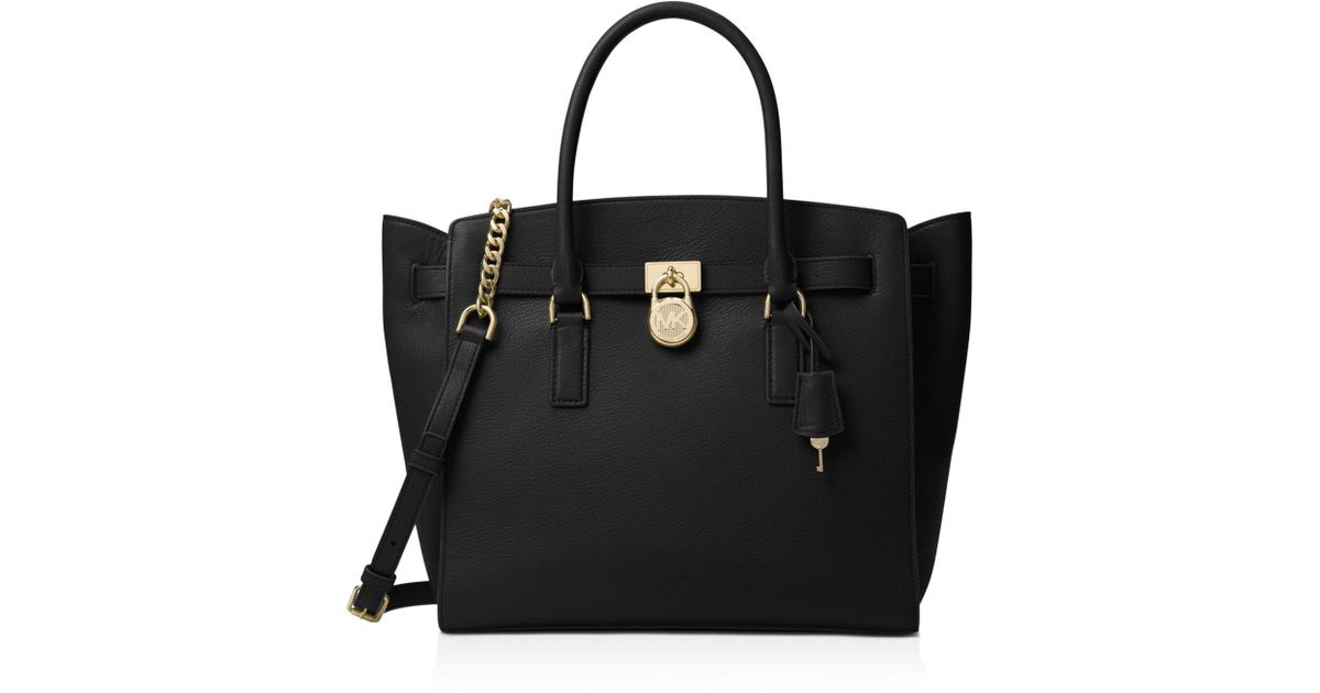 743dc42f5431 Michael Kors Hamilton Extra-large Tote in Black - Lyst