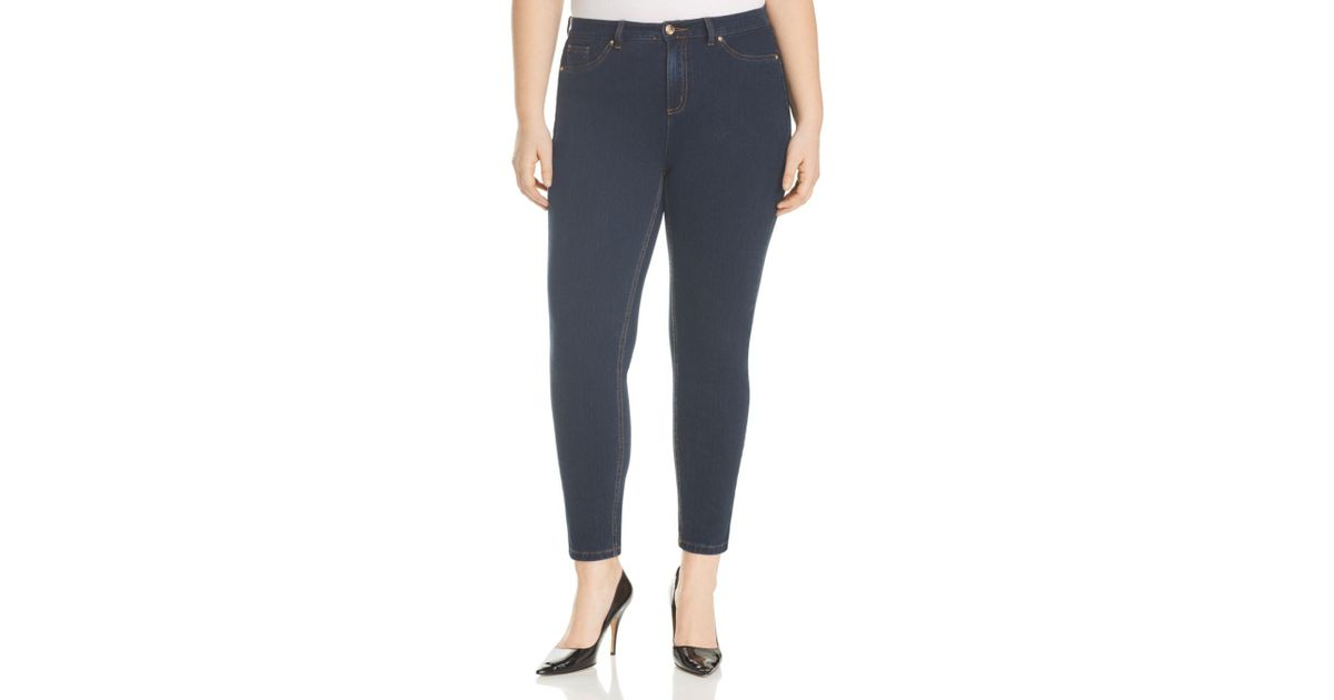 4daf9ea0e85a2 Lyst - Marina Rinaldi X Ashley Graham Idillio Tapered Jeans in Blue