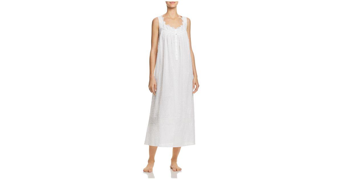 Eileen West Ballet Long Gown in White - Lyst