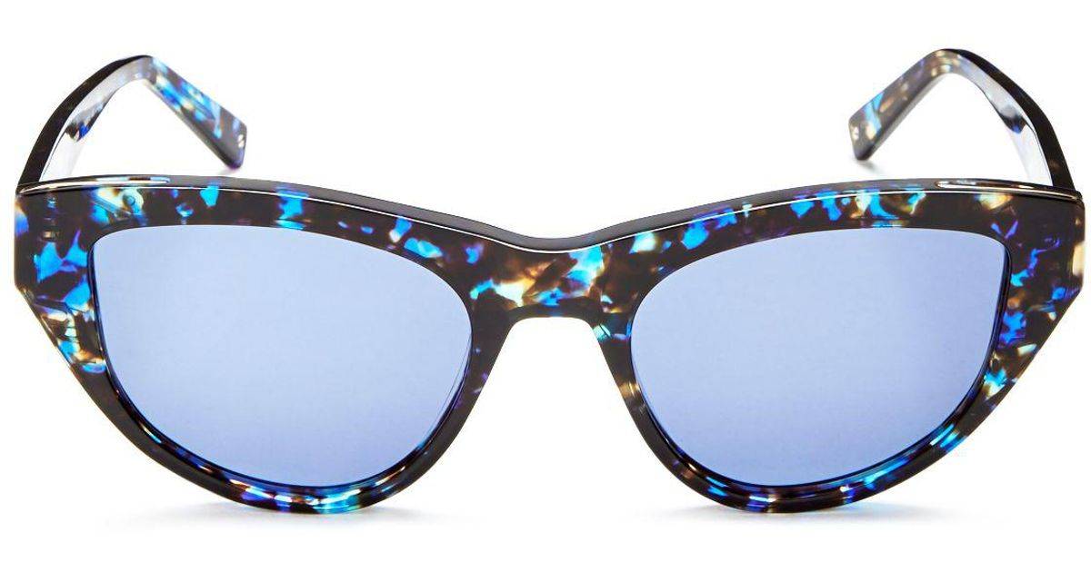 d17bfb085e Kendall + Kylie 52mm in Blue - Lyst