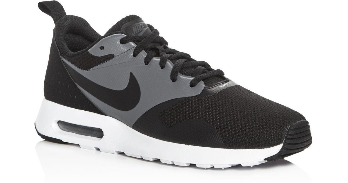 4ee47bea40a37 Lyst - Nike Men s Air Max Tavas Special Edition Lace Up Sneakers in Black  for Men