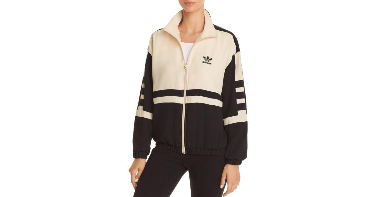 Adidas Originals Black Color block Track Jacket