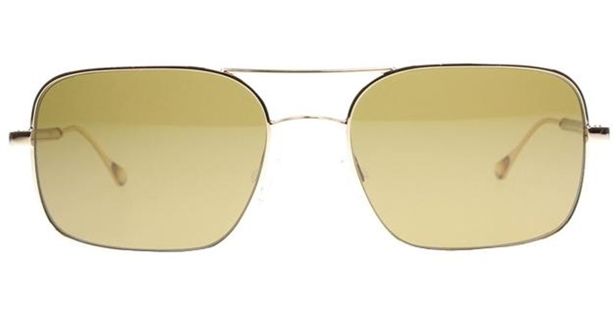 f73a134371 Lyst - Oliver Peoples De Oro in Metallic for Men