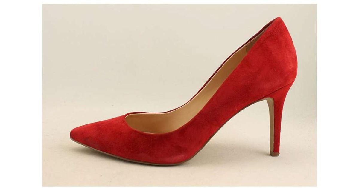 89e4d10e79b Lyst - Jessica Simpson Womens Levin Pointed Toe Classic Pumps in Red