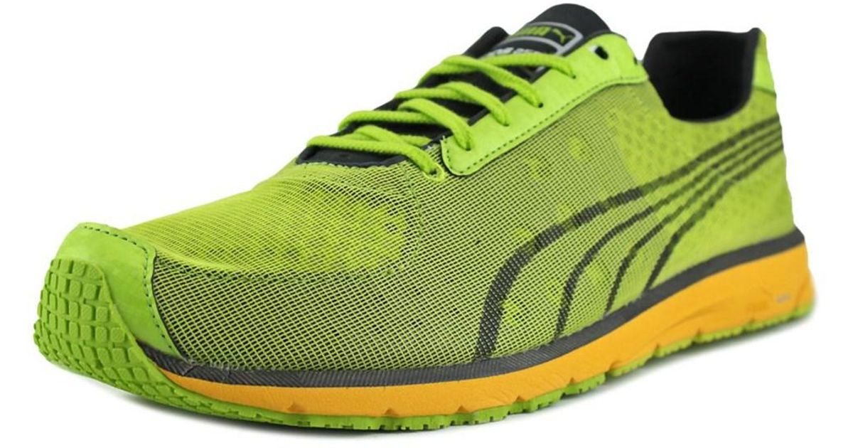 Lyst - Puma Faas 250 Women Round Toe Synthetic Green Running Shoe in Green d0b44bf24