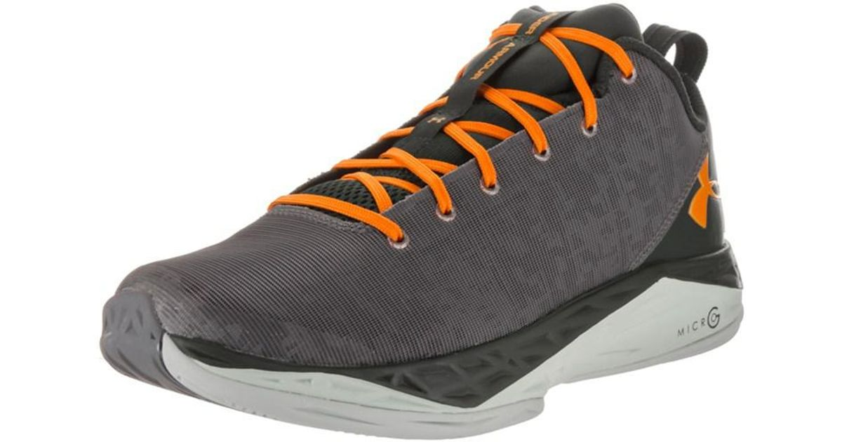 0ab2ed30167a Lyst - Under armour Men s Fire Shot Low Basketball Shoe in Gray for Men