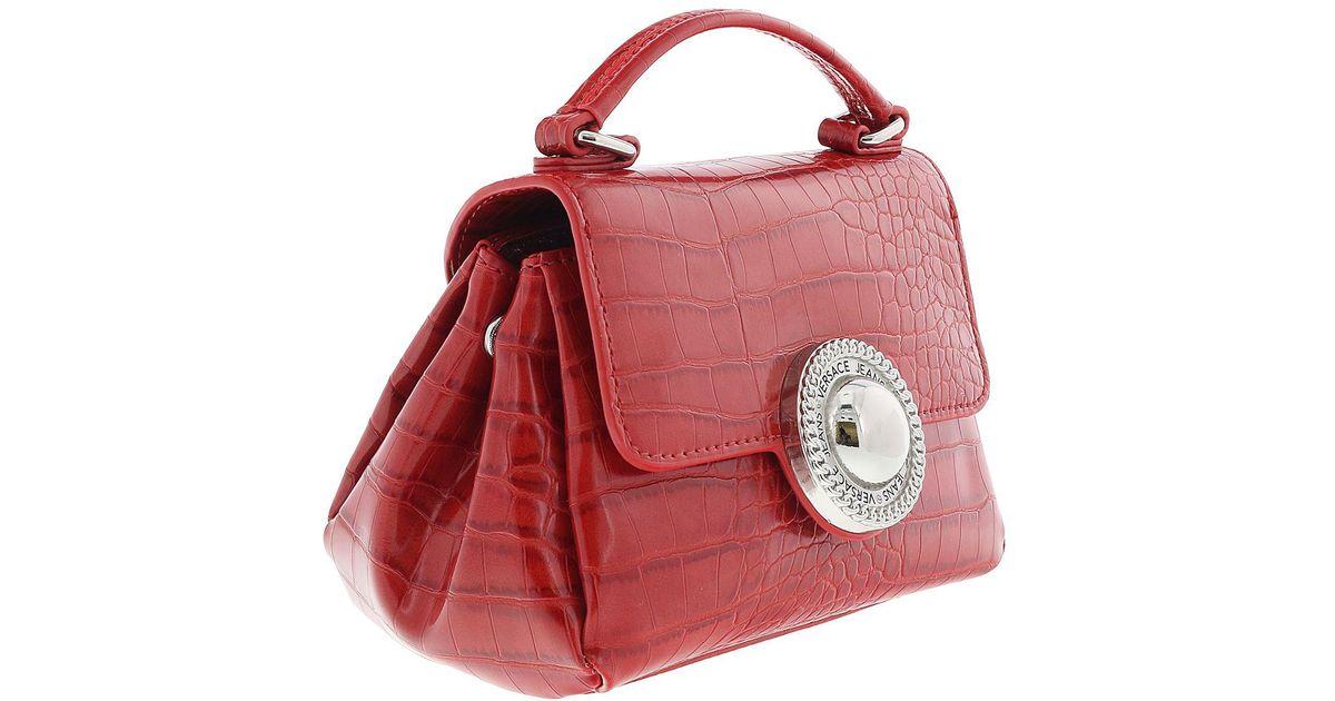 9e6c17109321 Lyst - Versace Ee1vrbbo7 Red Crossbody Bag in Red