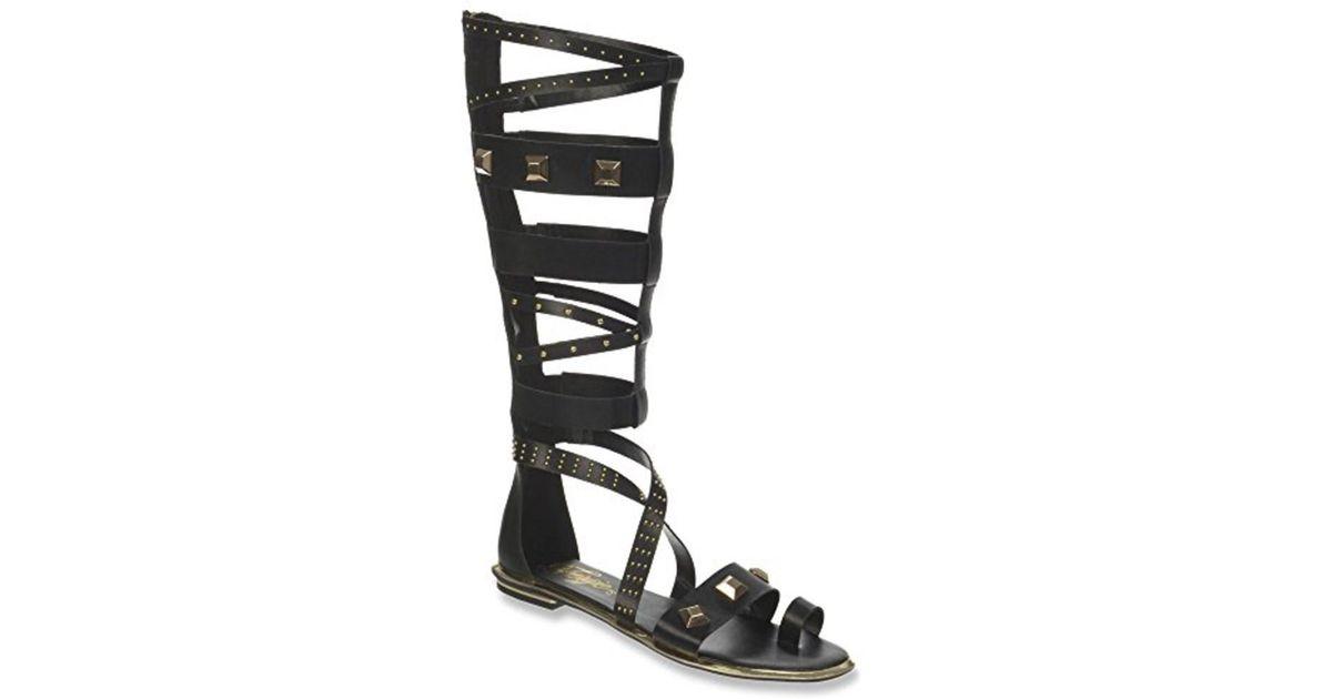 d3212756a190 Lyst - Fergie Women s Savannah Gladiator Sandal in Black