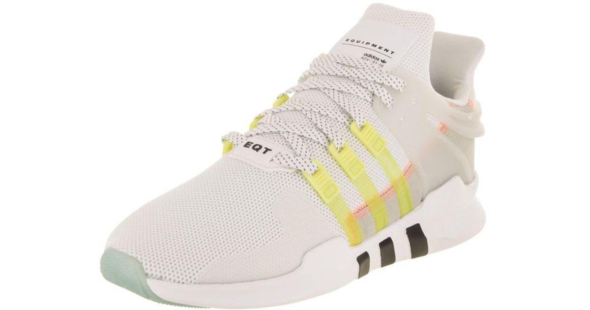 Lyst - Adidas Women s Eqt Support Adv Originals Running Shoe in White ec2ec773bd3d