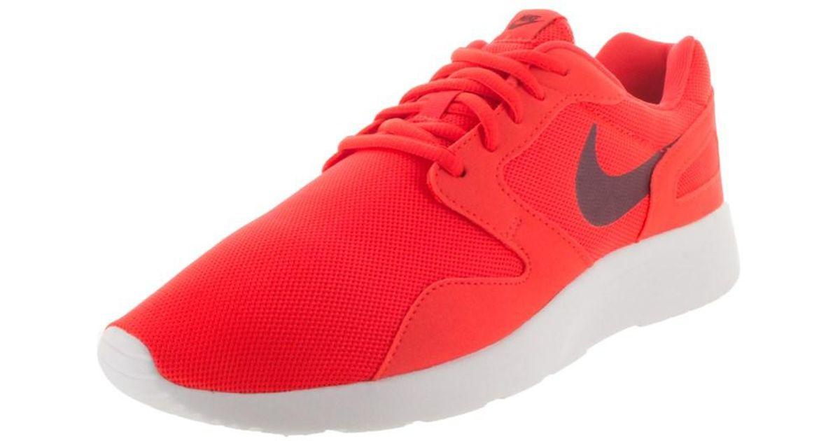 989f210a2dac Lyst - Nike Women s Kaishi Running Shoe in Red for Men