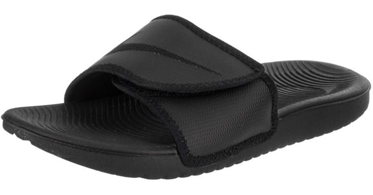 3275a9f5a41 ... reduced lyst nike mens kawa adjust sandal in black for men 5bdac d830e