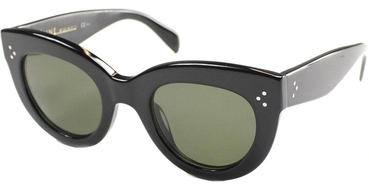 071532ee0d Celine Sunglasses Black Cat Eye