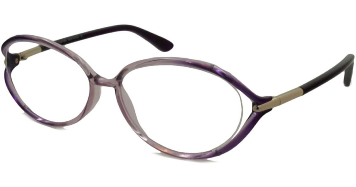 eb9b3e2aa7ef Lyst - Tom Ford Tf5212-074-55 Optical Frames in Metallic