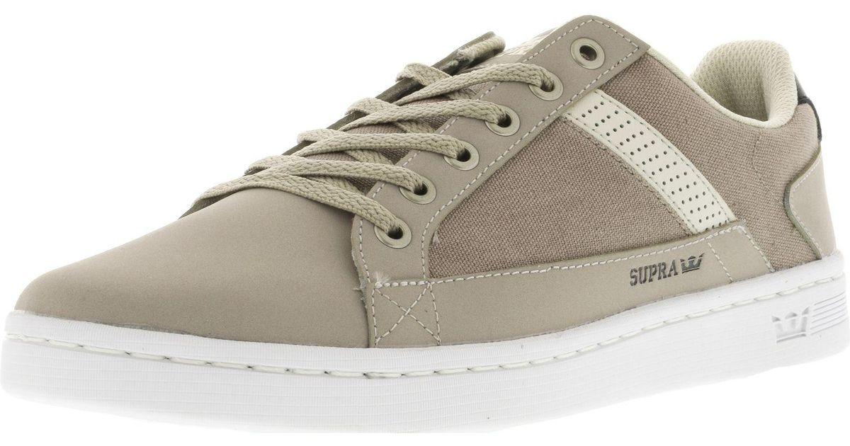 b56747be5817 Lyst - Supra Men s Westlake Ankle-high Fashion Sneaker in Natural for Men
