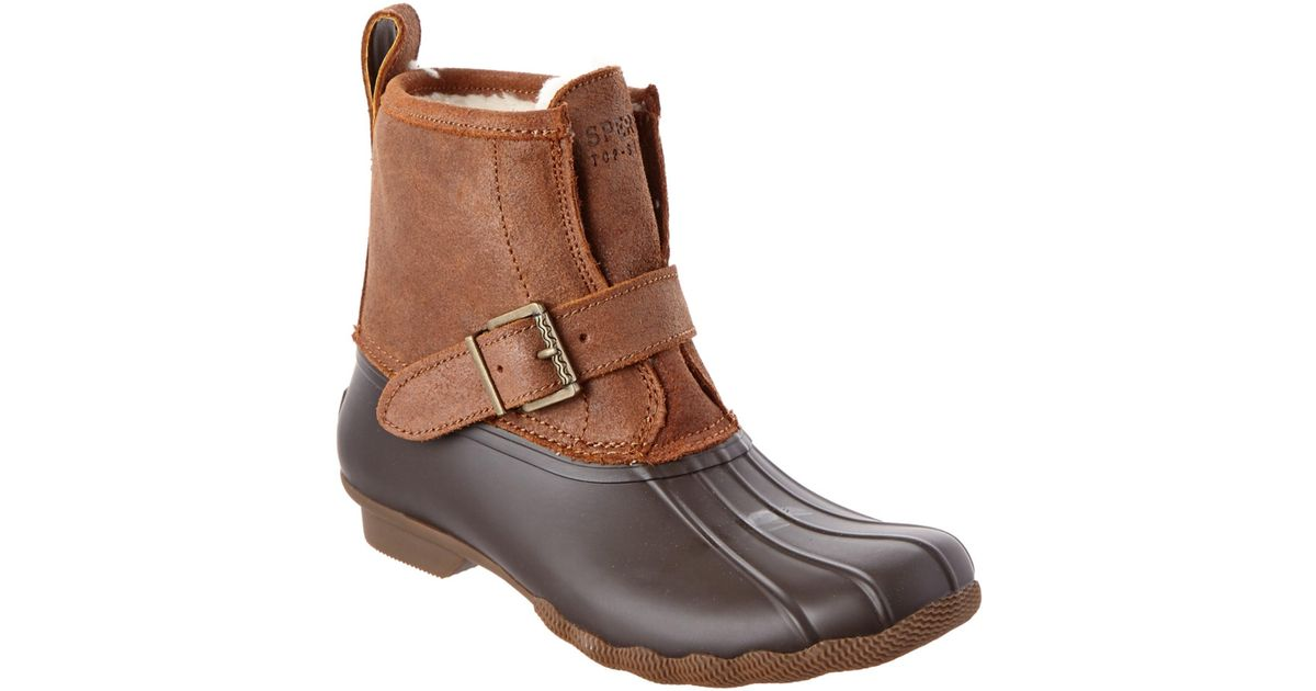 2691d8b6add5 Lyst - Sperry top-sider Rip Water Duck Boot in Brown