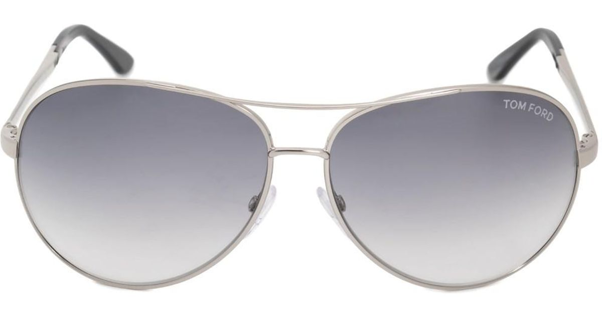 4c8566e71a Lyst - Tom Ford Charles Aviator Sunglasses Ft0035 753 62