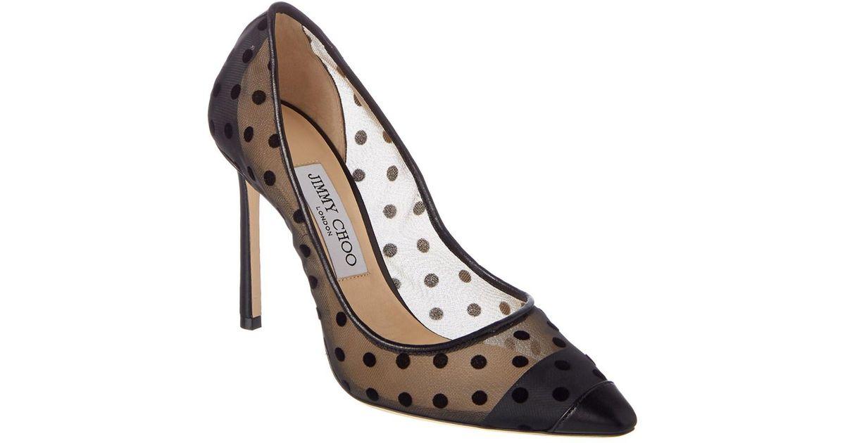 Tan and Black Flocked Leopard Romy 85 Heels Jimmy Choo London hYXrpN