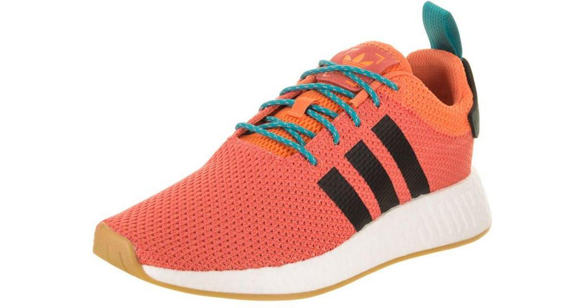 893340a29 Lyst - Adidas Men s Nmd r2 Summer Originals Running Shoe in Orange for Men