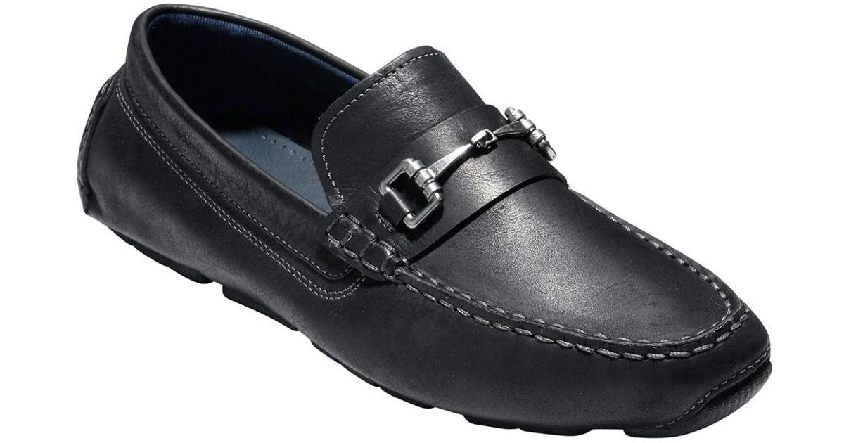1bc14aa6f5a Lyst - Cole Haan Men s Kelson Bit Loafer C24714 Black - Black in Black for  Men