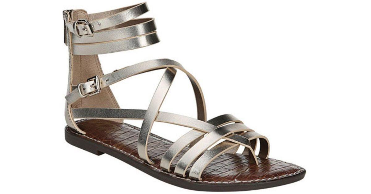 Ganesa Leather Gladiator Sandals 0G00ErR9Y